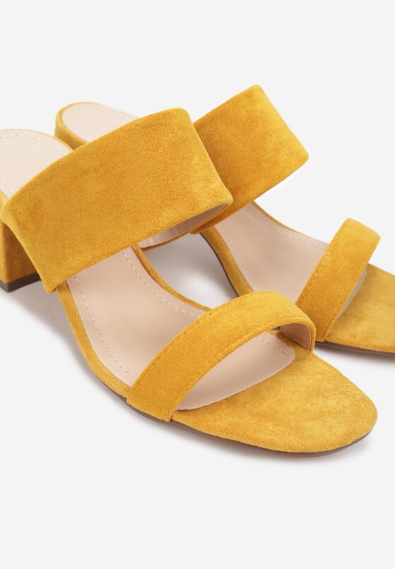 Żółte Klapki Oriphithoe