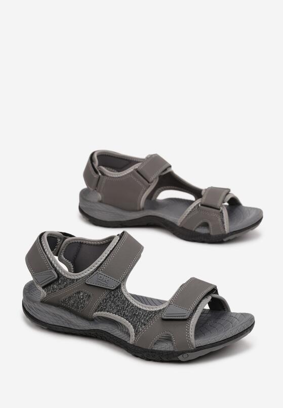 Szare Sandały Nepheshi
