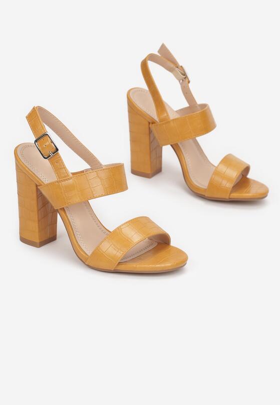 Żółte Sandały Prisophila