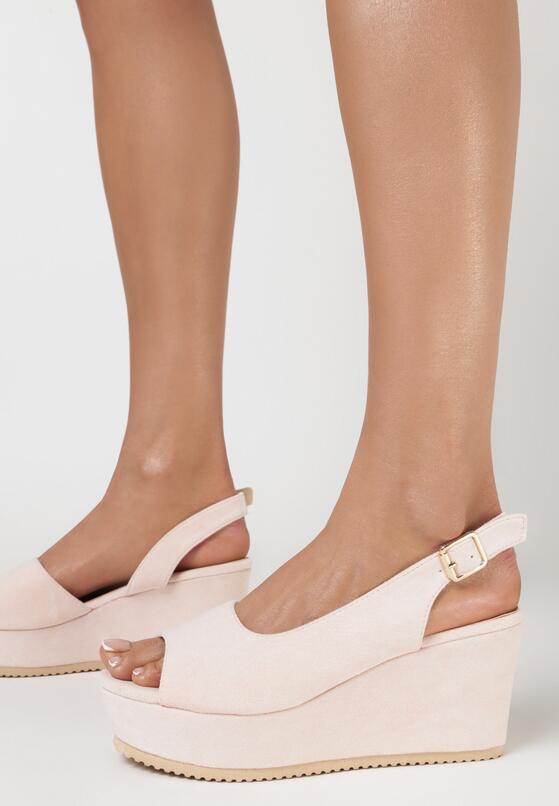 Różowe Sandały Pasophis