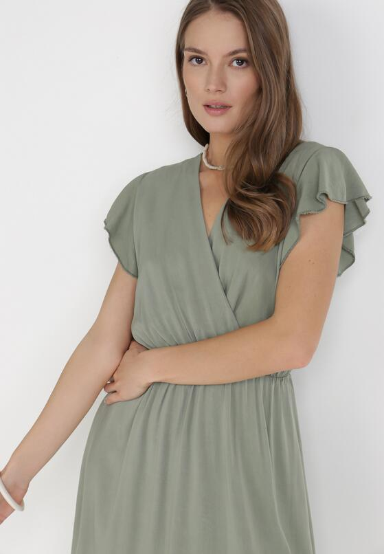 Khaki Sukienka Vylnihr