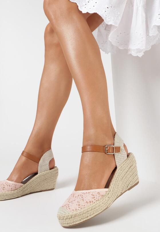 Różowe Sandały Iasiphis