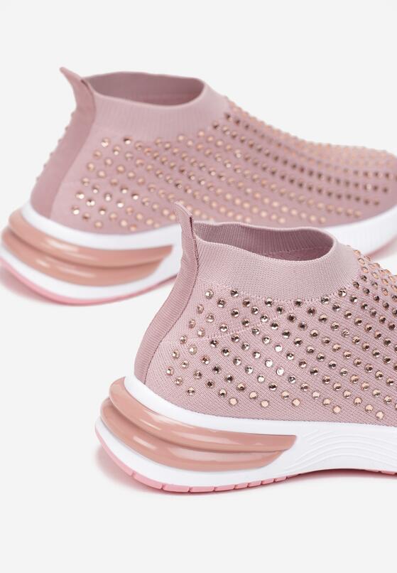 Różowe Buty Sportowe Daeiris