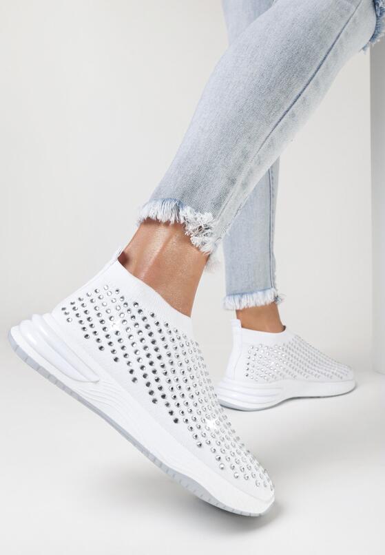 Białe Buty Sportowe Daeiris