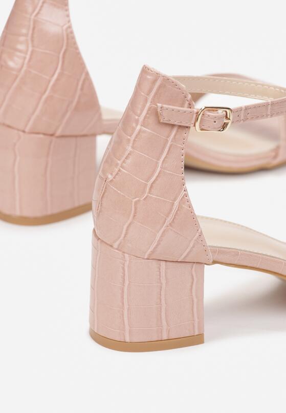 Różowe Sandały Jeniemare
