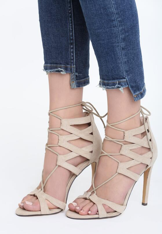 Beżowe Sandały Formidable