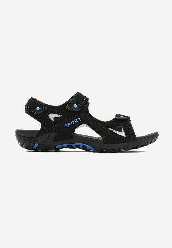 Czarne Sandały Severed