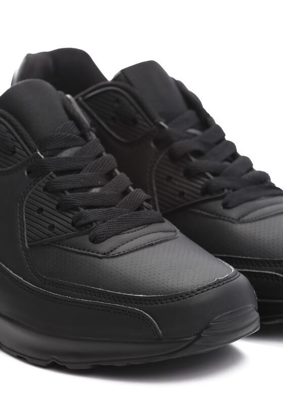 Czarne Buty Sportowe Sonorously