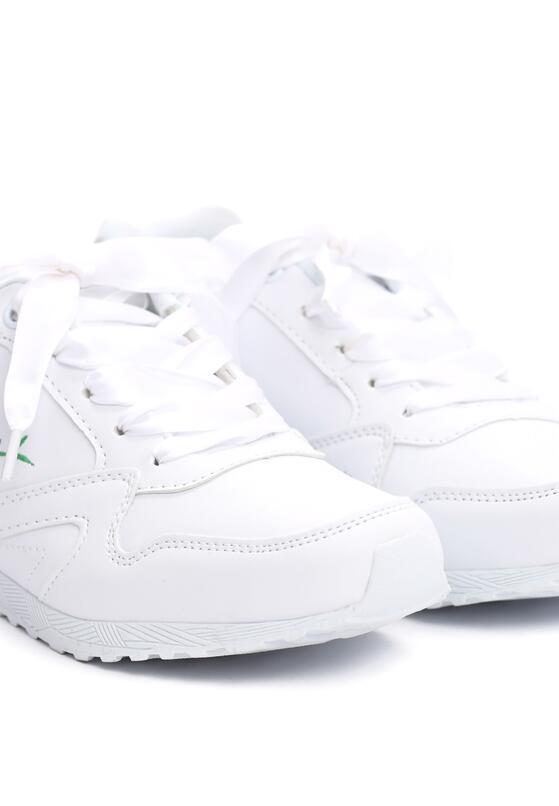 Białe Buty Sportowe Lay The Groundwork