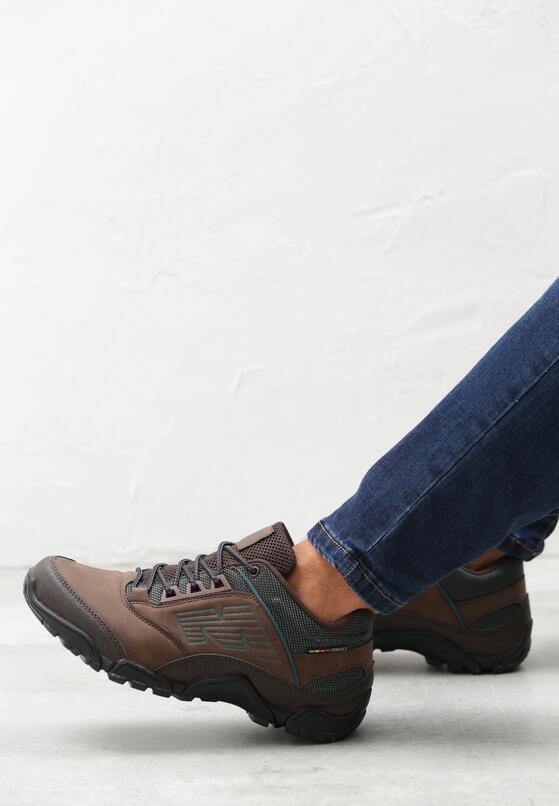 Brązowe Buty Sportowe Cromwell