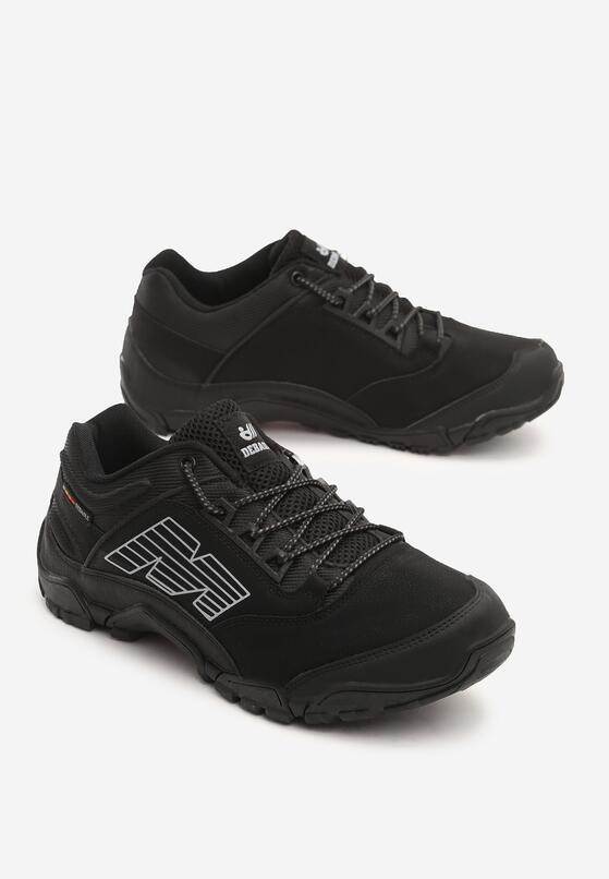 Czarne Buty Sportowe Cromwell
