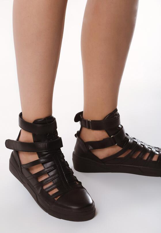 Szare Sneakersy Ponderous