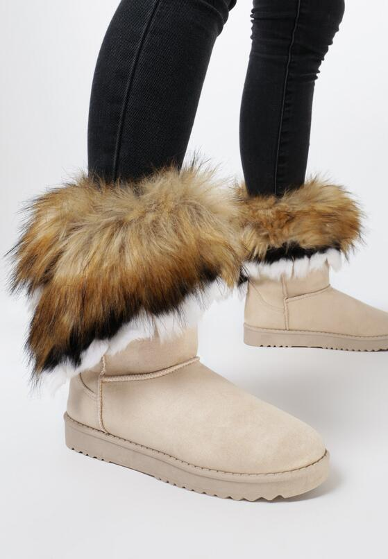 Beżowe Śniegowce Foxrock