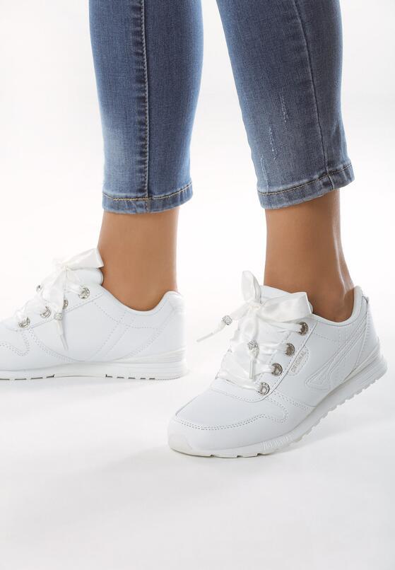 Białe Buty Sportowe Emphasis