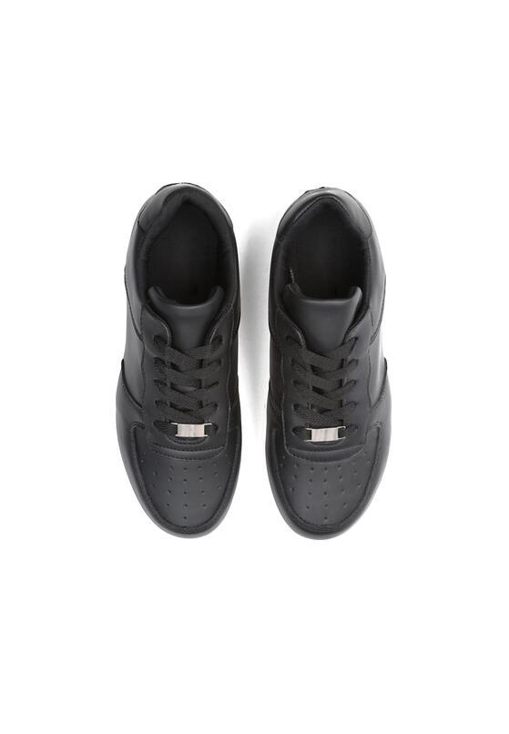 Czarne Buty Sportowe Hearthens