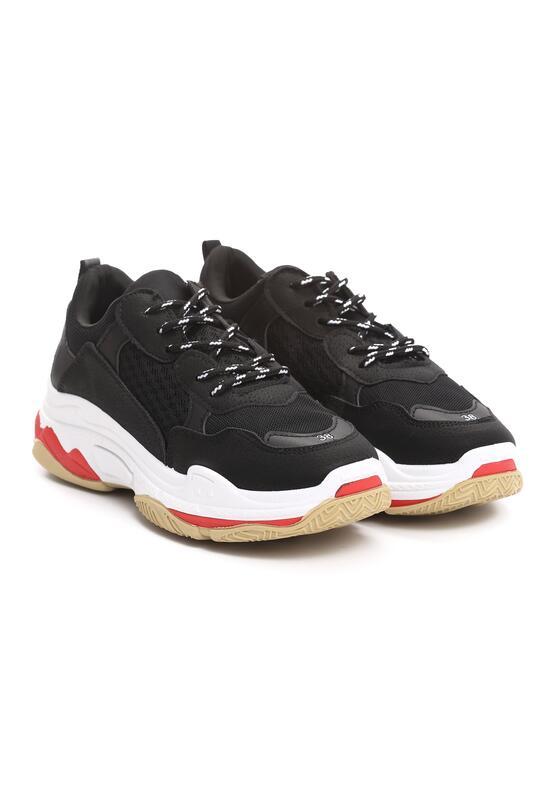 Czarne Sneakersy Boomerang