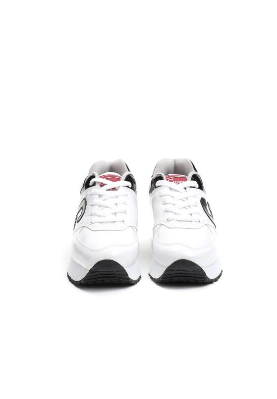 Biało-Czarne Buty Sportowe Makin Moves