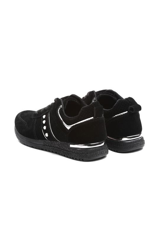 Czarne Buty Sportowe Parole