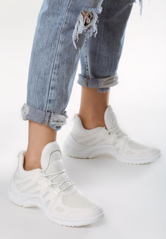 Białe Buty Sportowe Set Apart