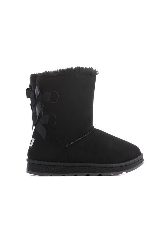 Czarne Śniegowce Ice Pack