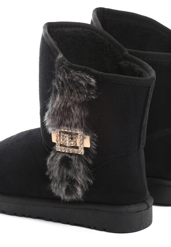 Czarne Śniegowce Snowsquall