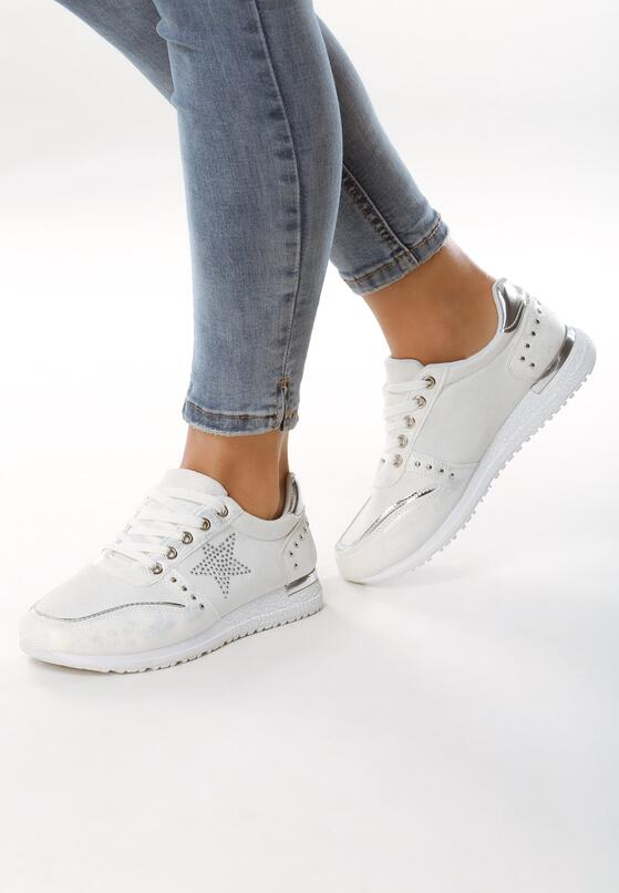 Białe Buty Sportowe Bring Around