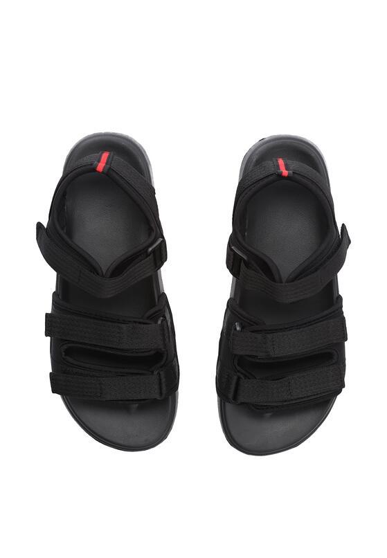 Czarne Sandały Opensightly