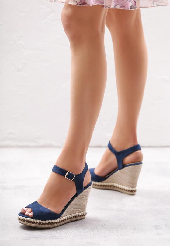 Niebieskie Sandały Increase Knowledge