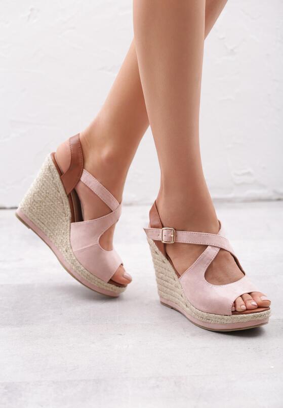 Różowe Sandały Pushover