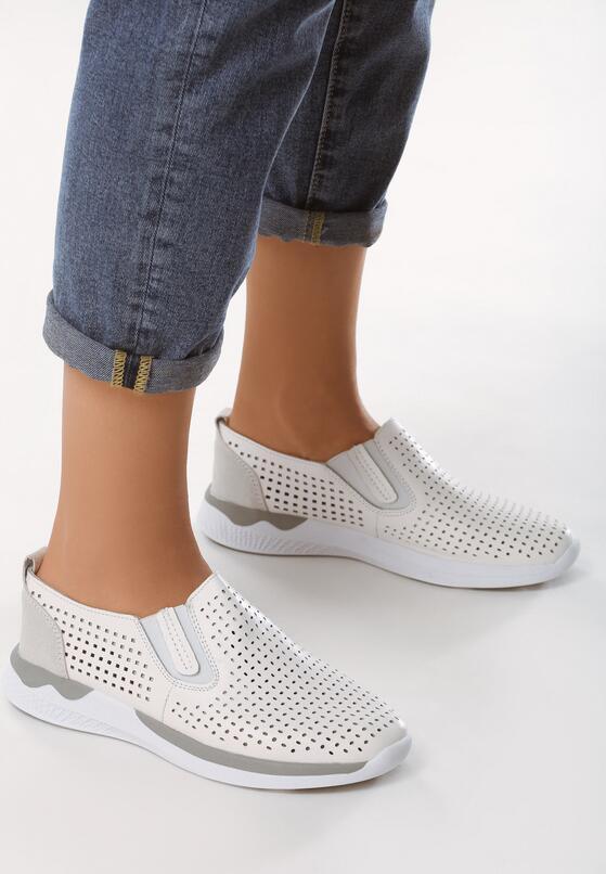 Białe Buty Sportowe Trust In