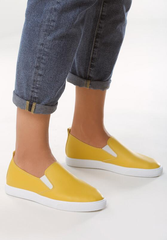 Żółte Slip On Trust
