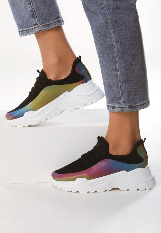 Czarne Sneakersy Prideful