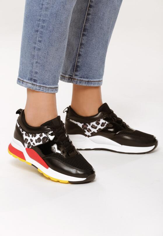 Czarne Sneakersy Workaholic