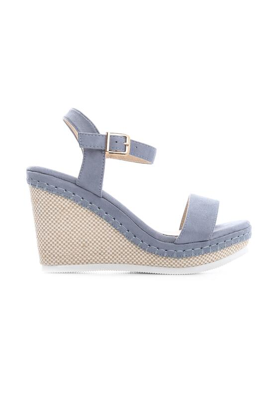 Niebieskie Sandały Disingenuous