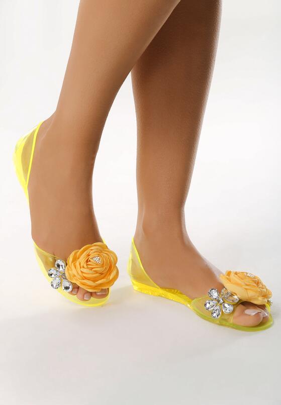 Żółte Sandały Dehydrogenate