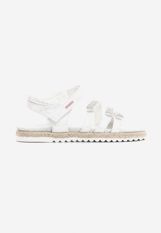 Białe Sandały Grander