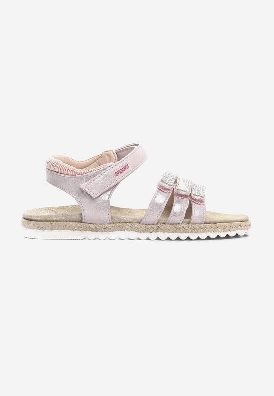 Różowe Sandały Grander