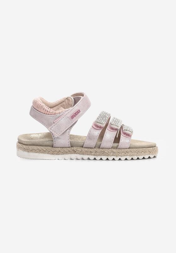 Różowe Sandały Equalize