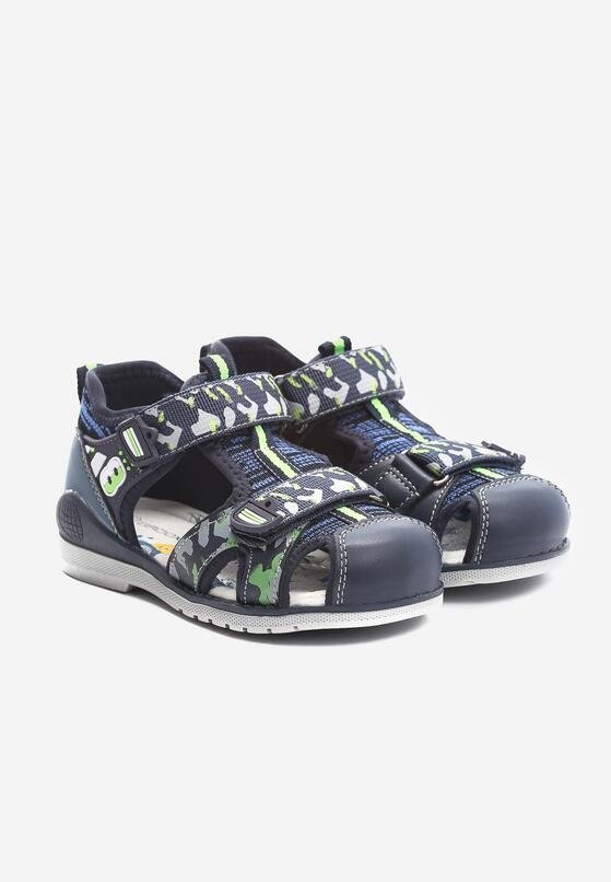 Granatowe Sandały Identic