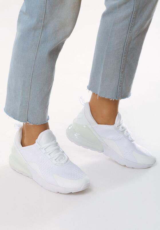 Białe Buty Sportowe Hit Ball