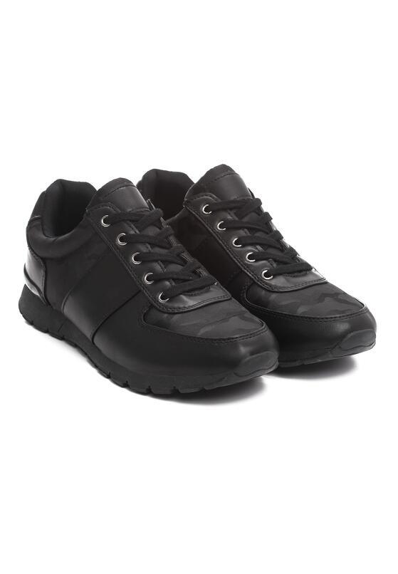 Czarne Buty Sportowe Method