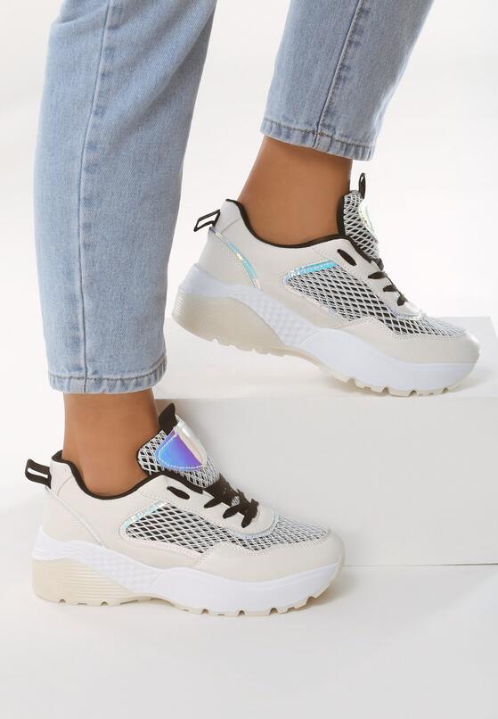 Białe Sneakersy Oversoft
