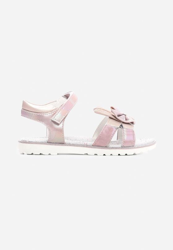 Różowe Sandały Anvil