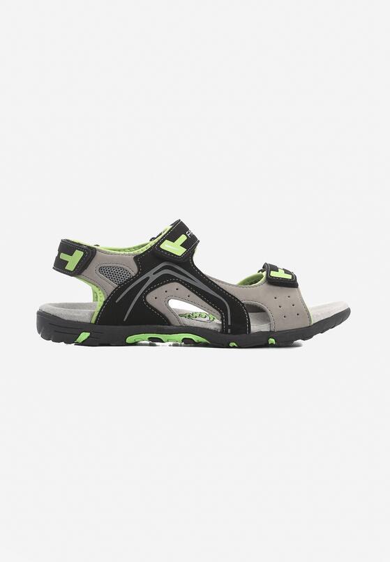 Zielone Sandały Plainer