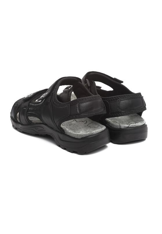 Czarne Sandały Cutty