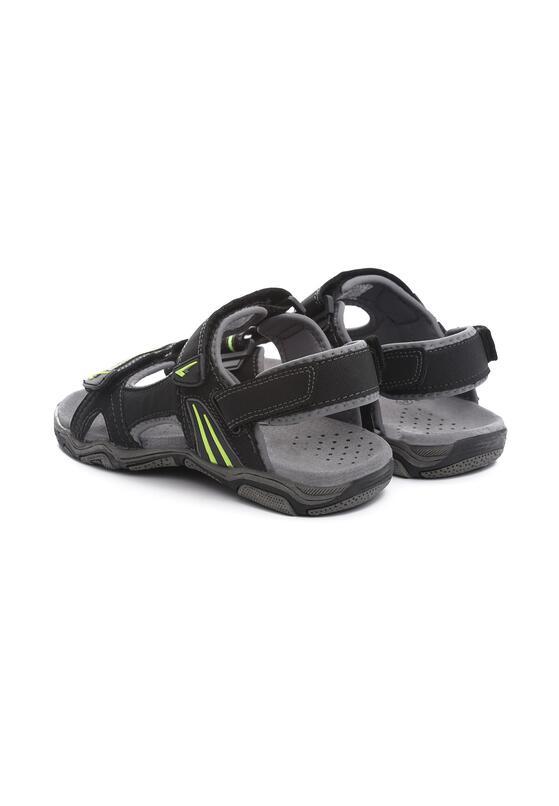 Czarno-Zielone  Sandały Dumbfounding