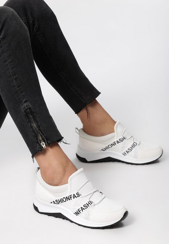 Białe Buty Sportowe Knightsbridge