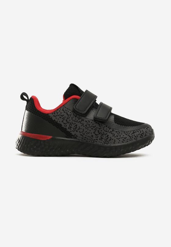Czarne Buty Sportowe Egad