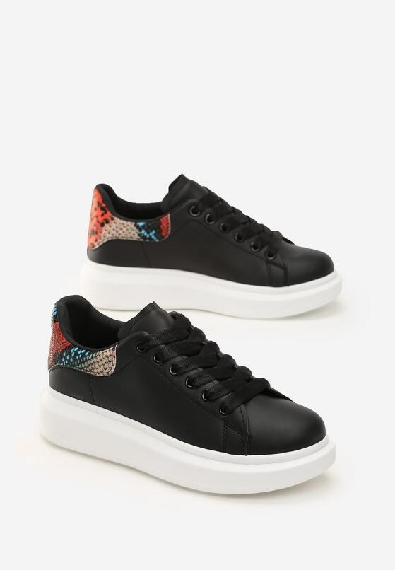 Czarne Sneakersy Welling
