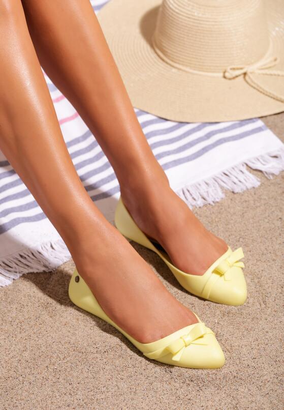 Żółte Balerinki Filament